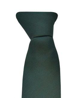 Dark Green Clip On Tie