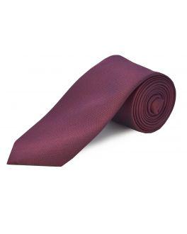 Maroon Extra Long Silk Tie