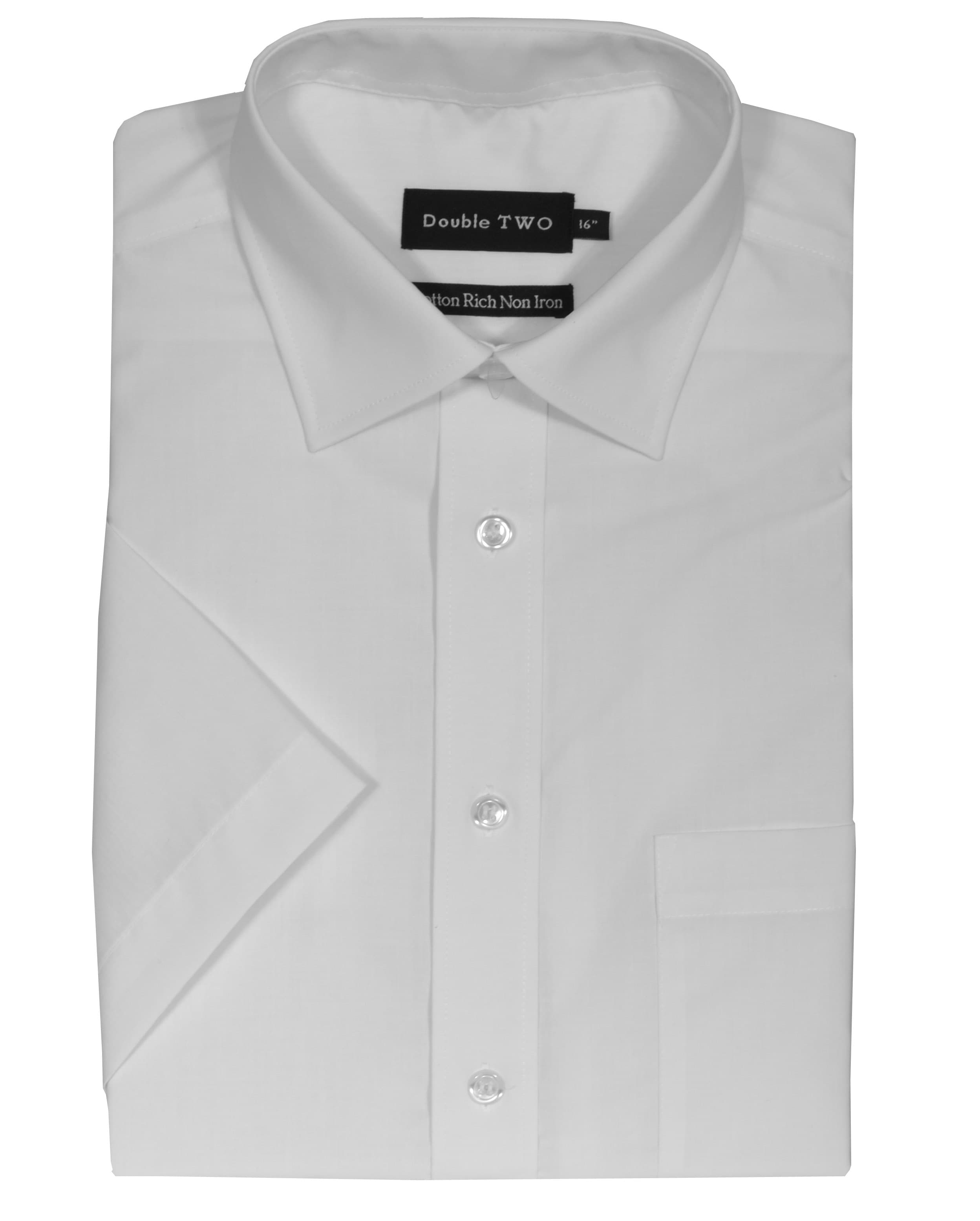 Non-Iron Cotton Pinpoint Straight Collar Short Sleeve Dress Shirt Non-Iron Cotton Pinpoint Straight Collar Short Sleeve Dress Shirt. $ Buy 1 Shirt, Get The 2nd 50% Off. Maintain a sharp, crisp look all day long in our non-iron dress shirts. Designed to resist wrinkles, our collection of men's non-iron shirts are both stylish and.