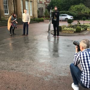 Behind the scenes of our AW2017 Photoshoot