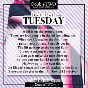 Brain Tease Tuesday Week 40
