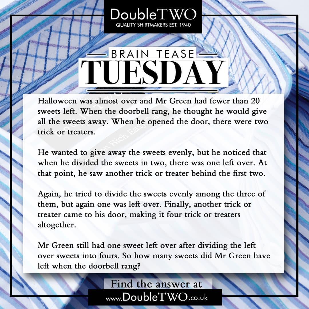 Brain Tease Tuesday Week 43