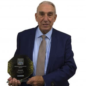 Double TWO Chairman scoops  Lifetime Achievement Award