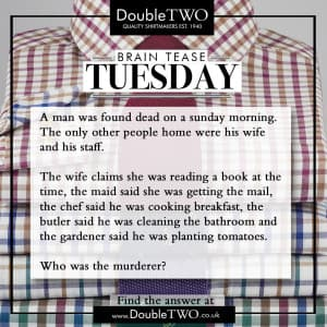 Brain Tease Tuesday Week 44