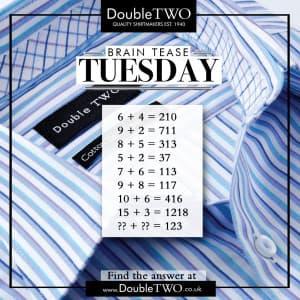 Brain Tease Tuesday Week 42