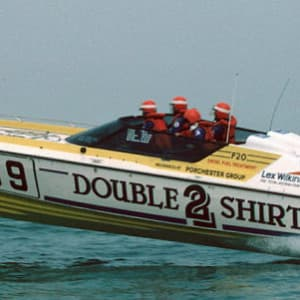When Double TWO Shirts (almost) ruled the waves!