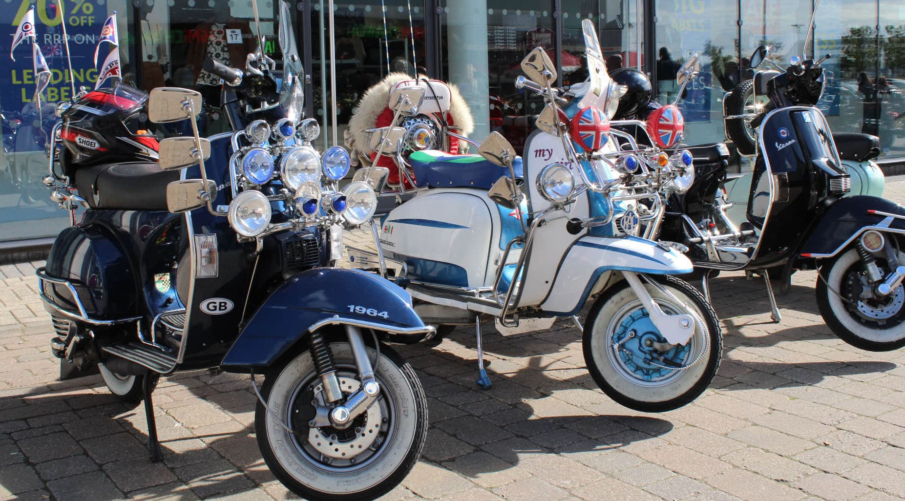 Double TWO Lambretta Event returns to Chatham