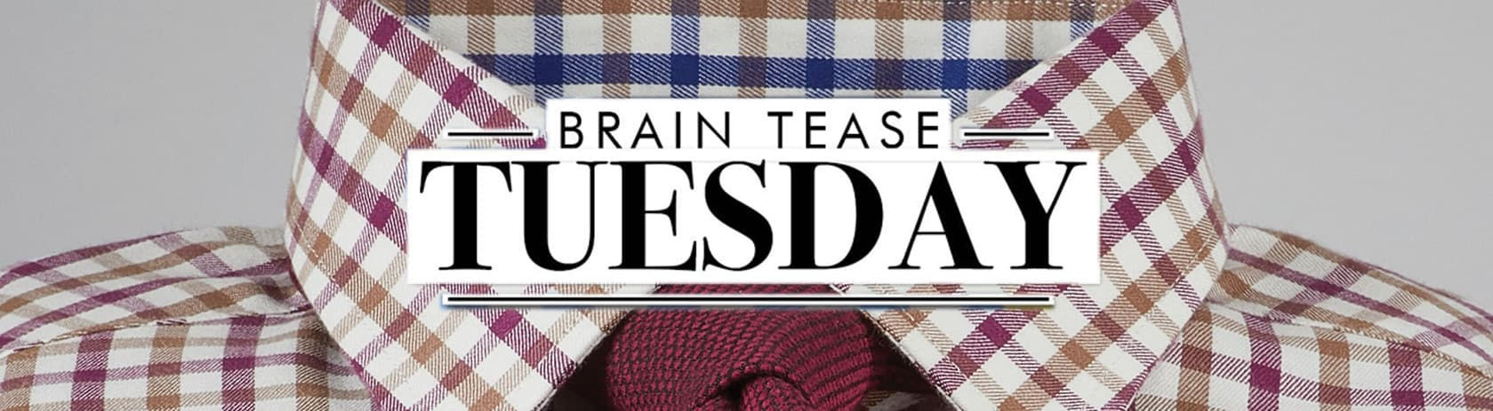 Brain Tease Tuesday Week 48