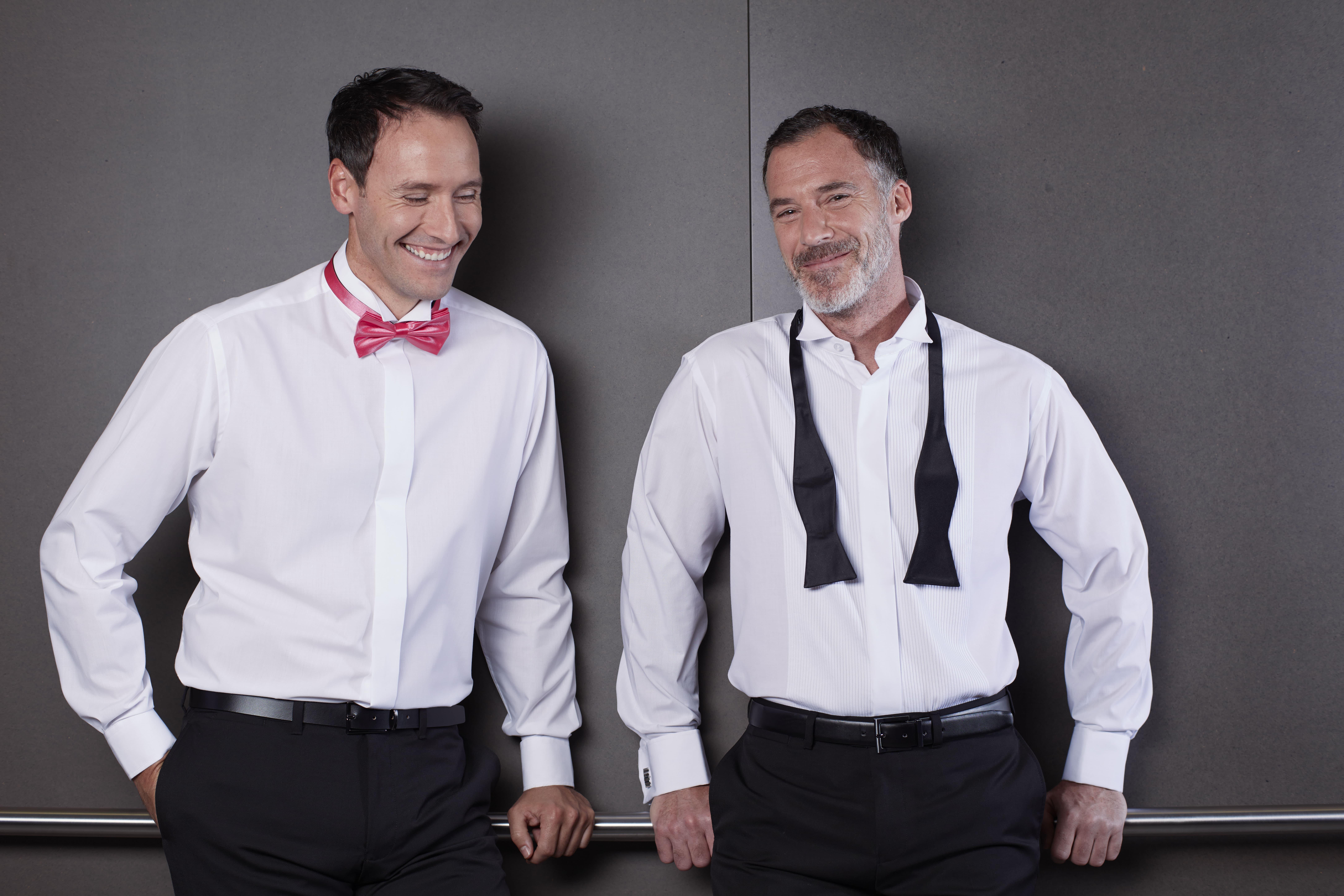 Shop Double TWO Men's Evening Shirts