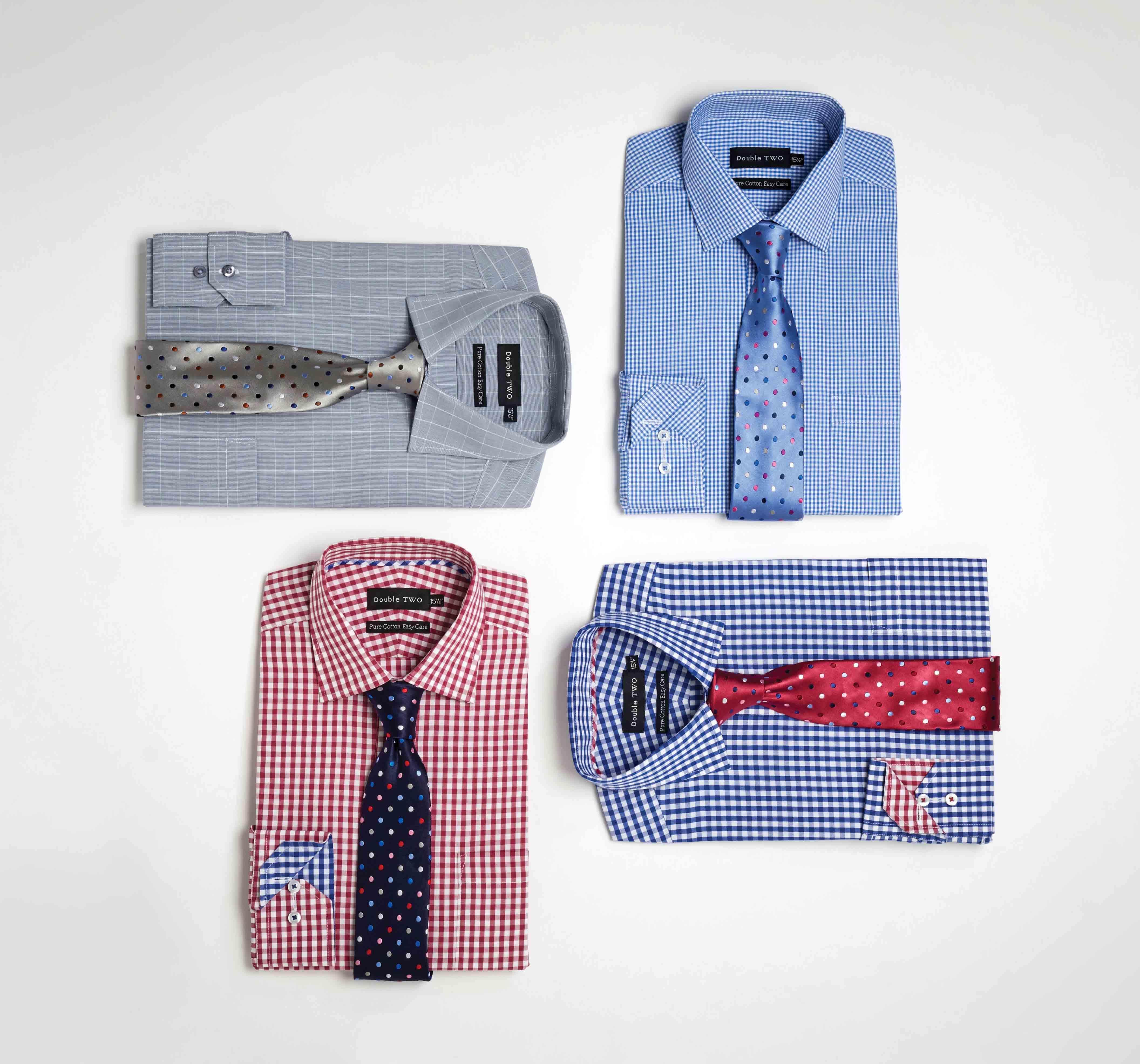 Shop Men's 100% Cotton Gingham Shirts