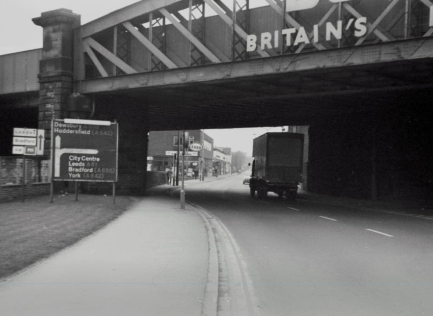 Ings Road Wakefield under the Double TWO Bridge