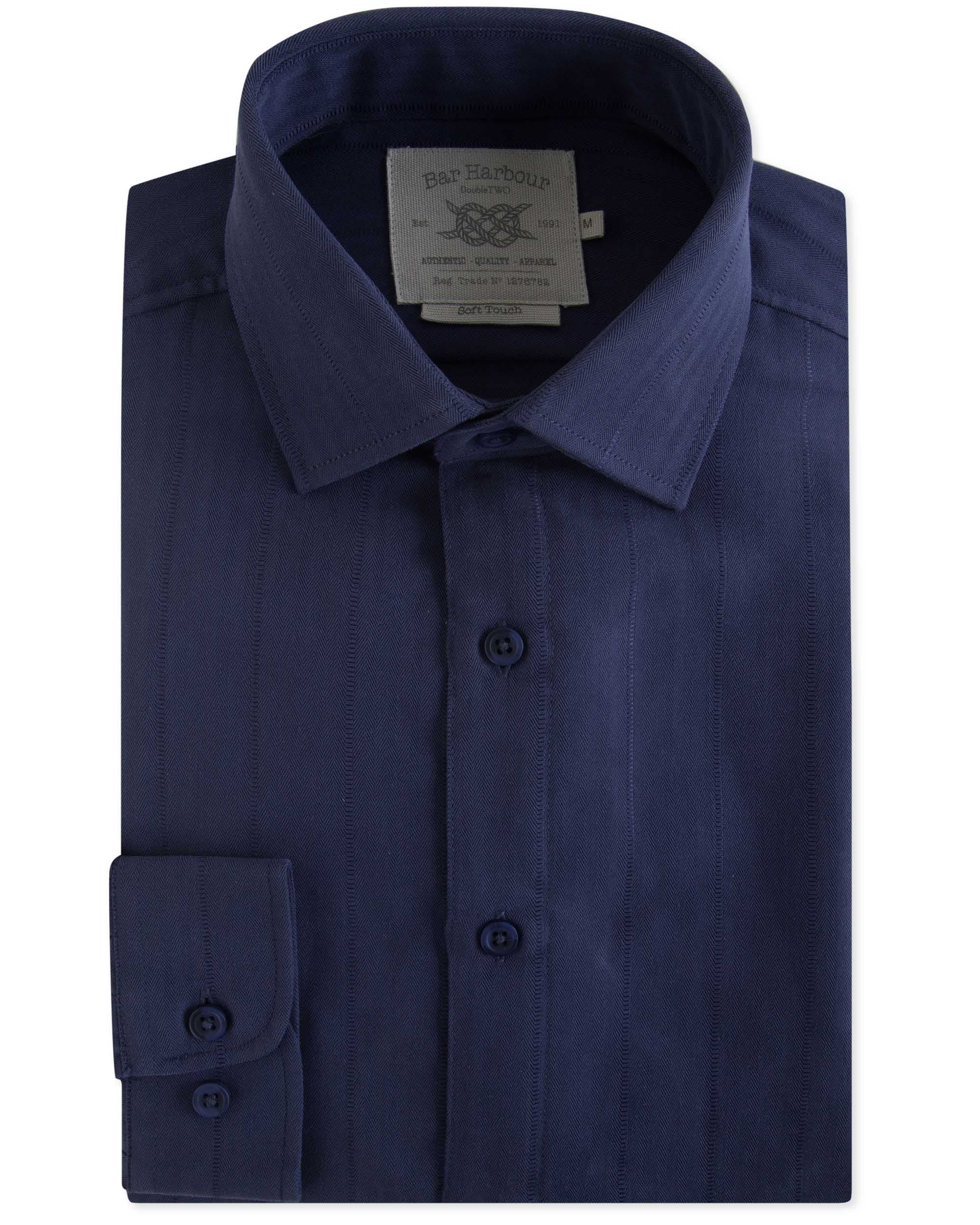 Herringbone Weave Shirt