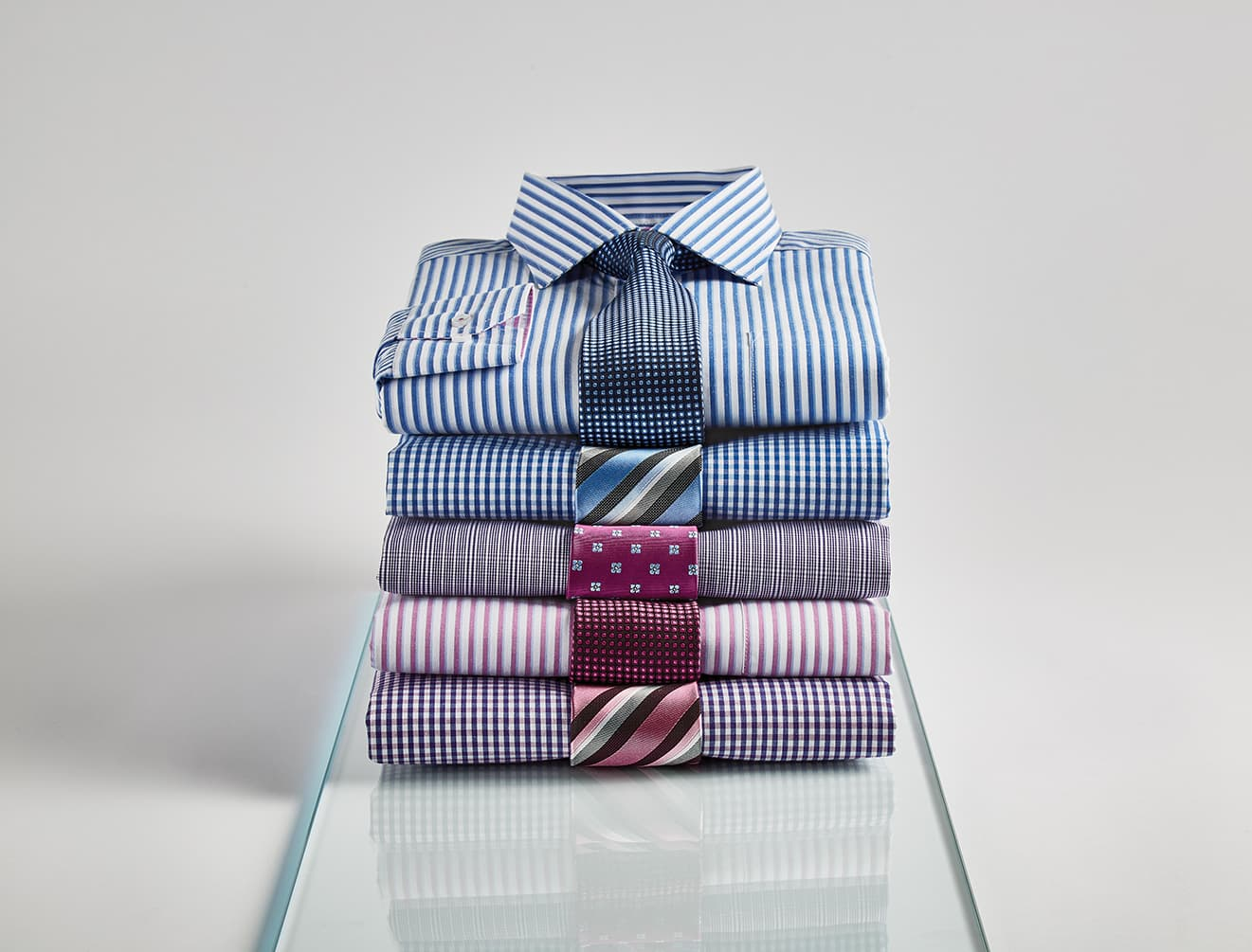 Double TWO Mens Formal Shirts and Ties AW18 Collection