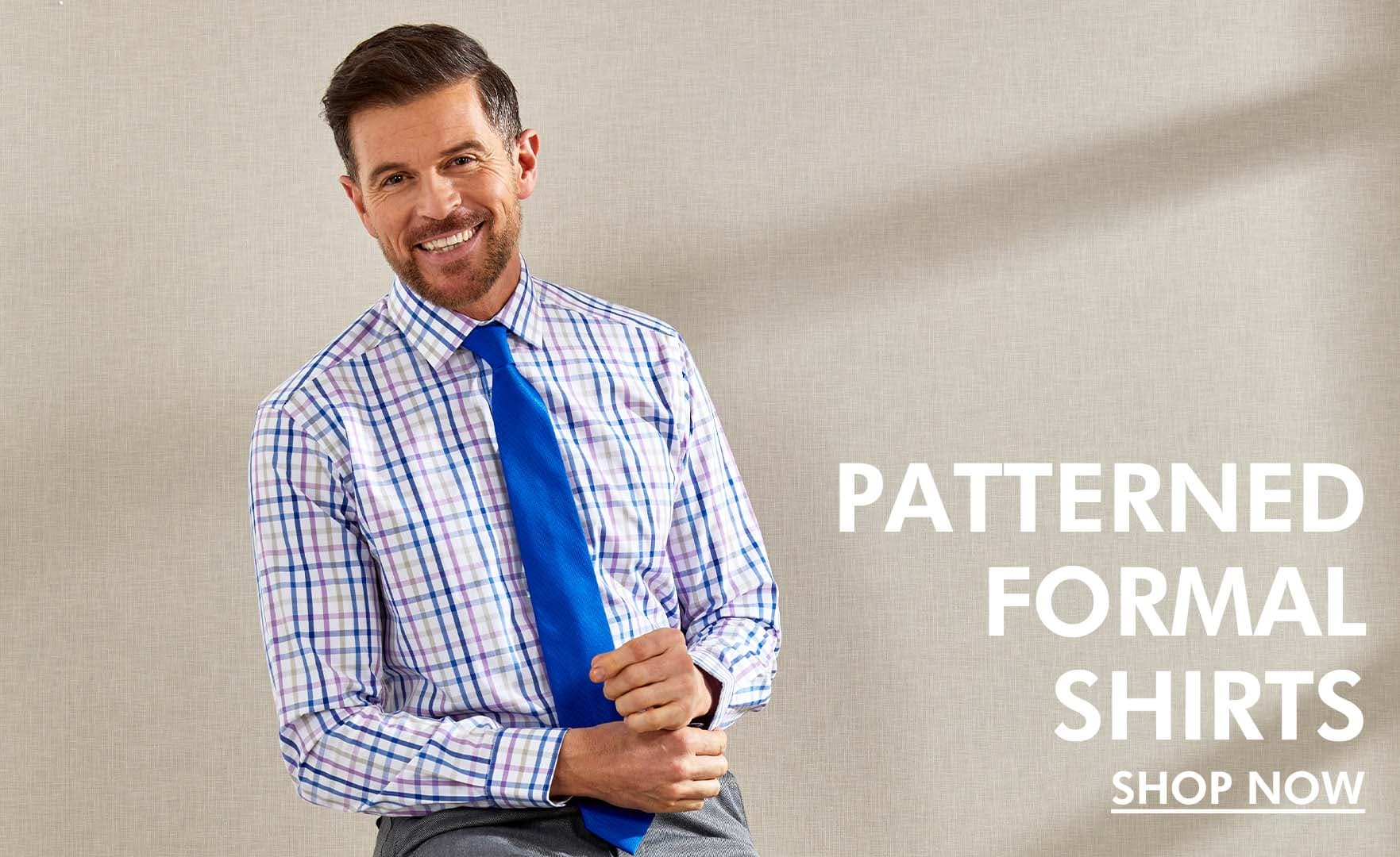 Patterned Formal Shirts New Season