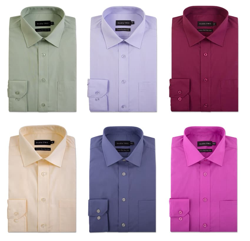 Colourful Non-Iron Formal Shirts for the Grand National and other Racing Events
