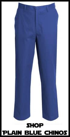Blue Chinos