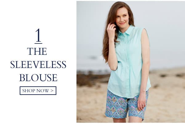The Sleeveless Blouse