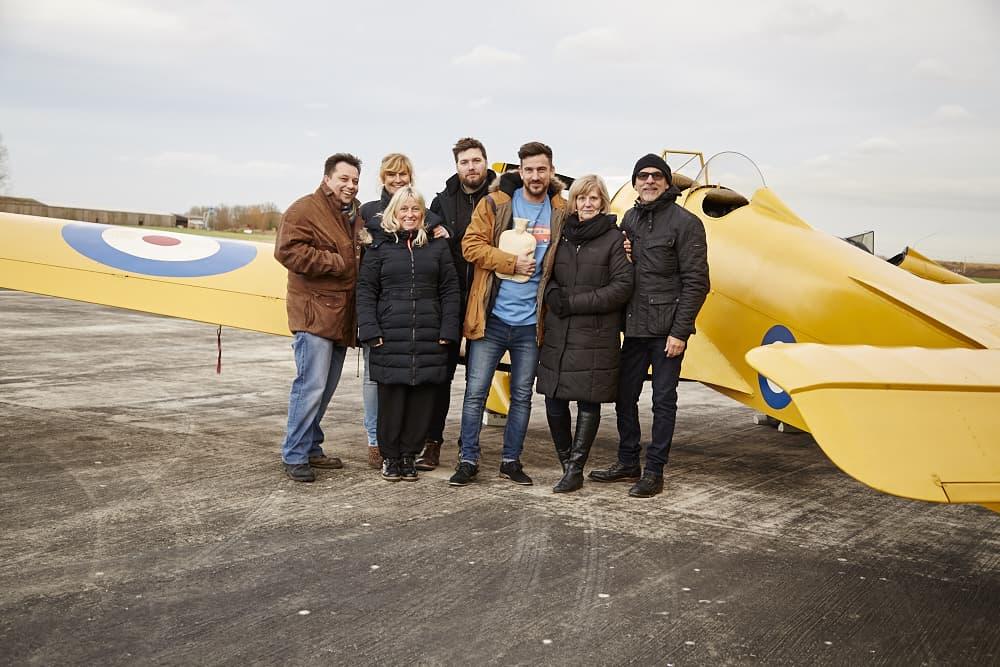 Our team on site at Breighton Aerodrome