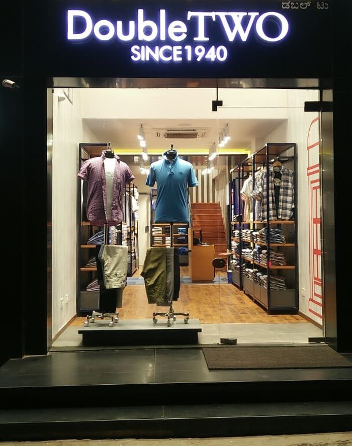 Double TWO India Store Front