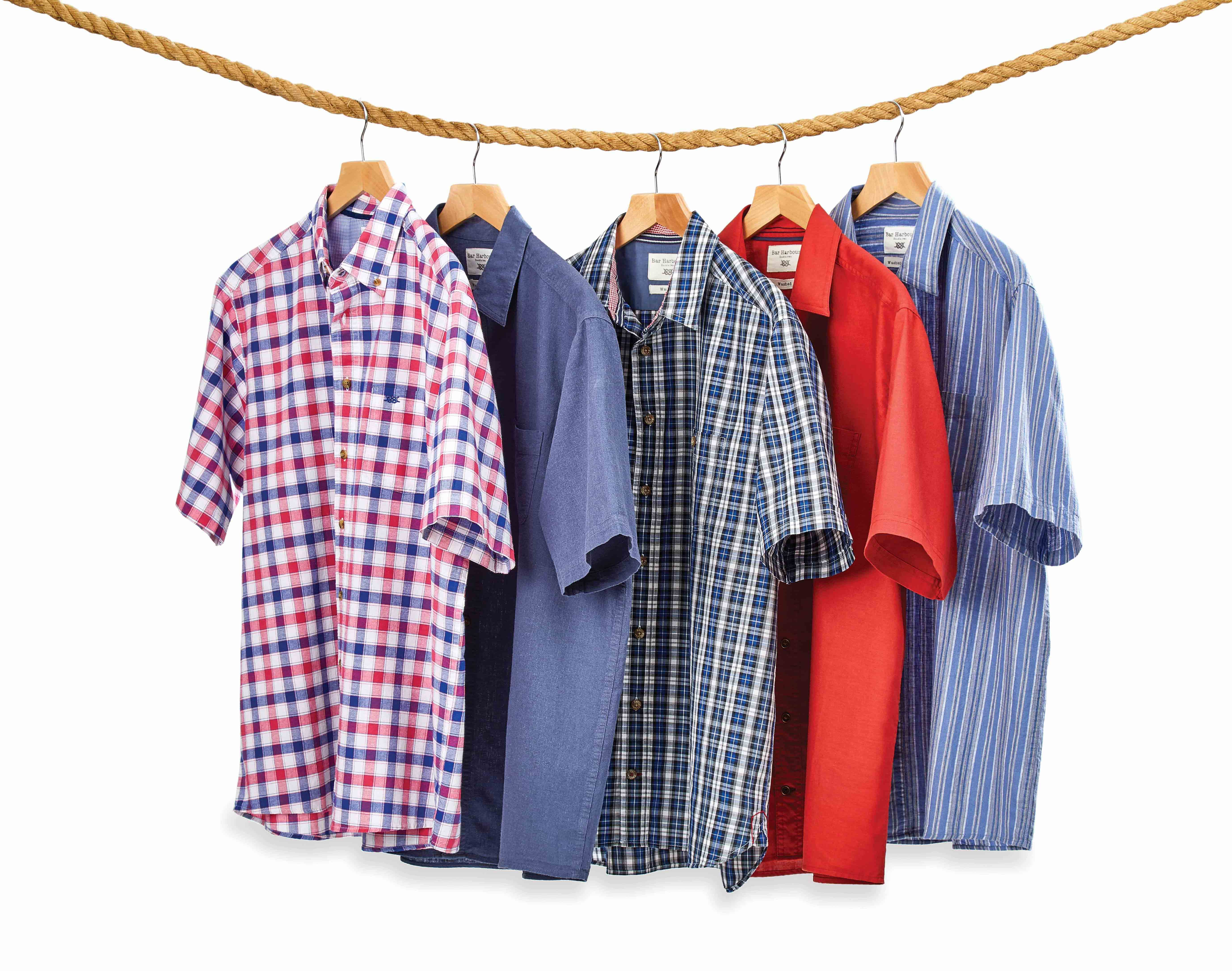 Shop Bar Harbour by Double TWO Casual Shirts