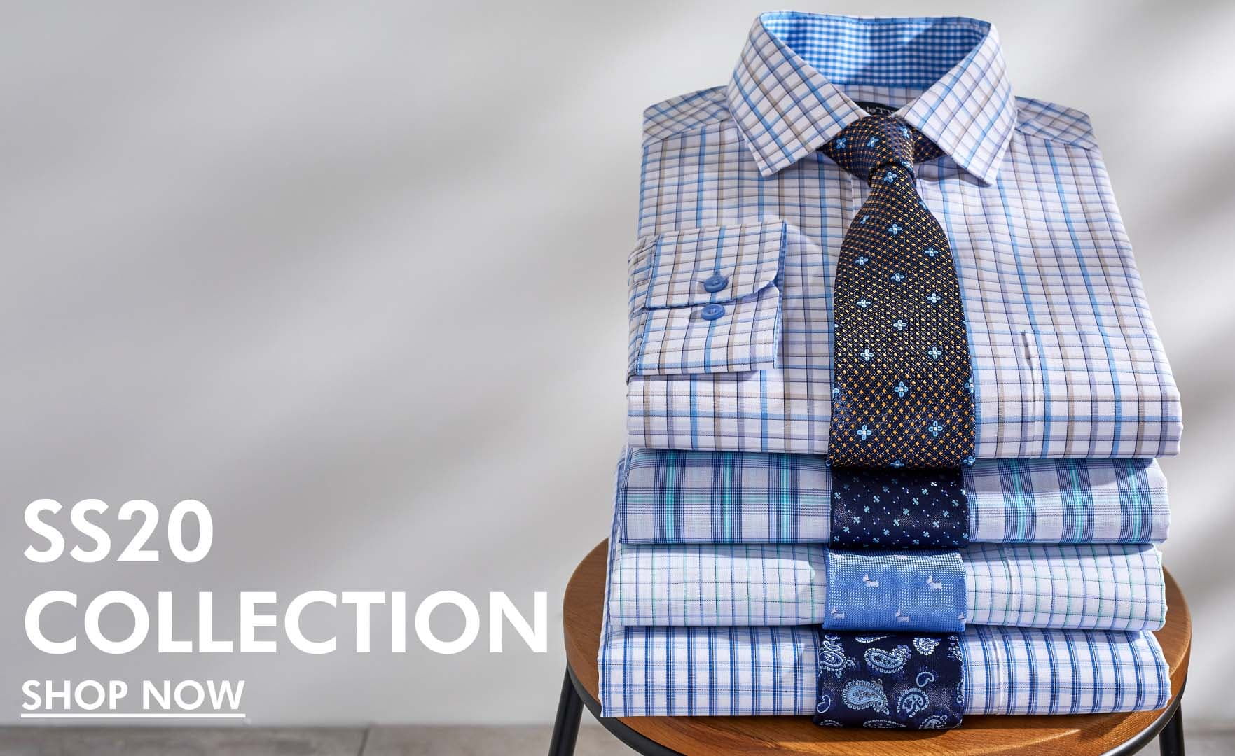 New Season Collection Men's Shirts