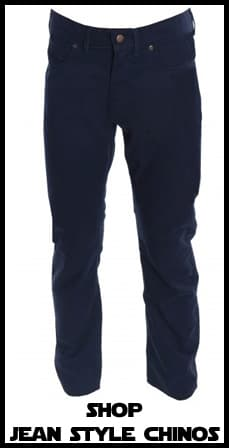 Jean Style Chinos