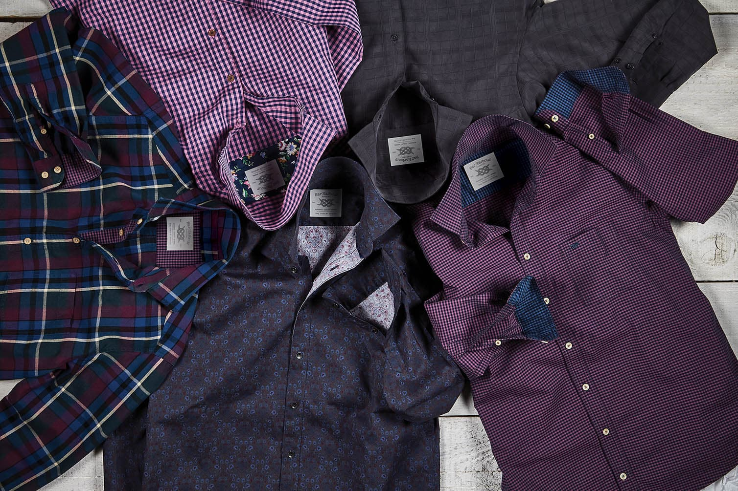 Double TWO Mens Casual Shirts AW18 Collection