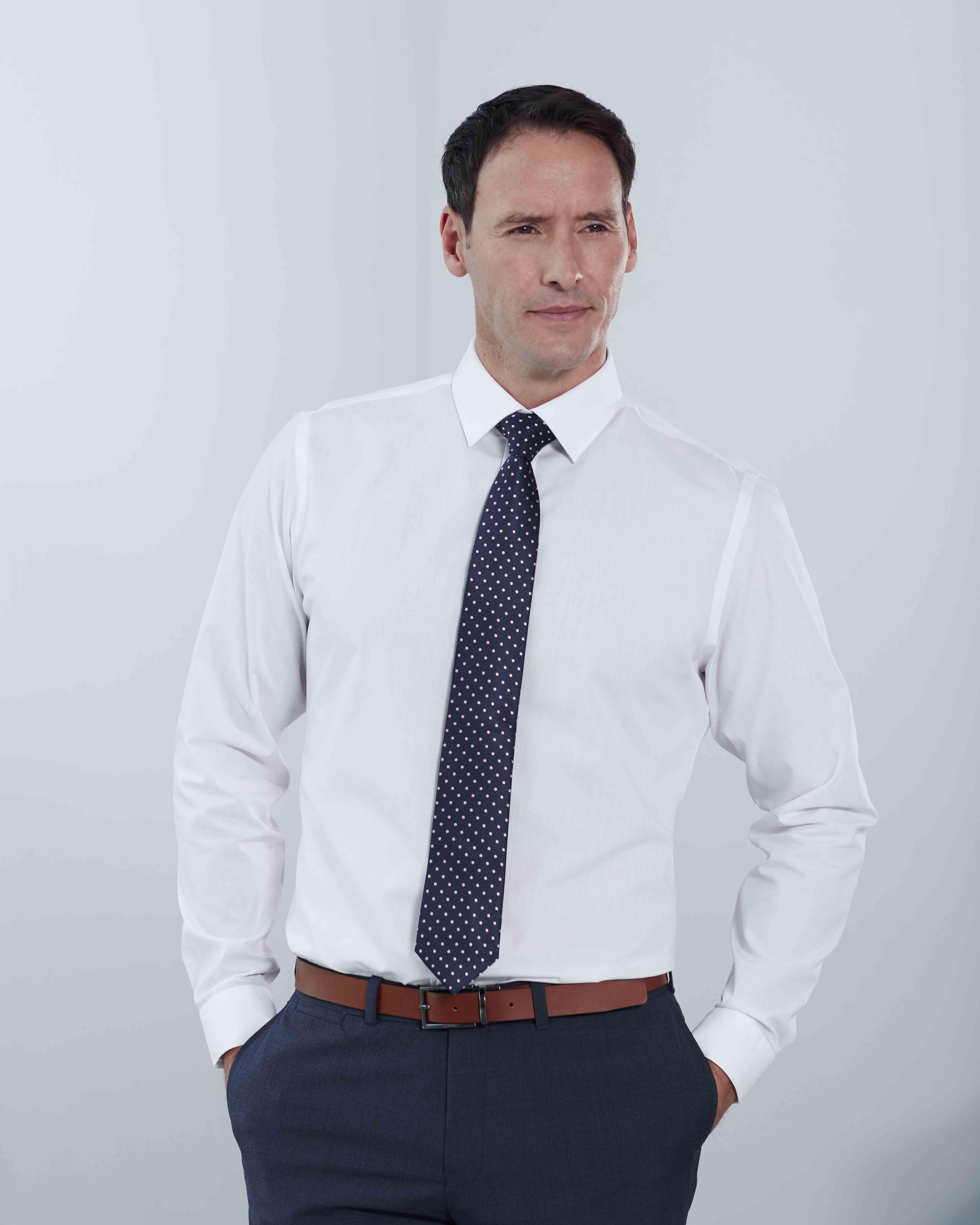 Men's Non-Iron Poplin Formal Shirts