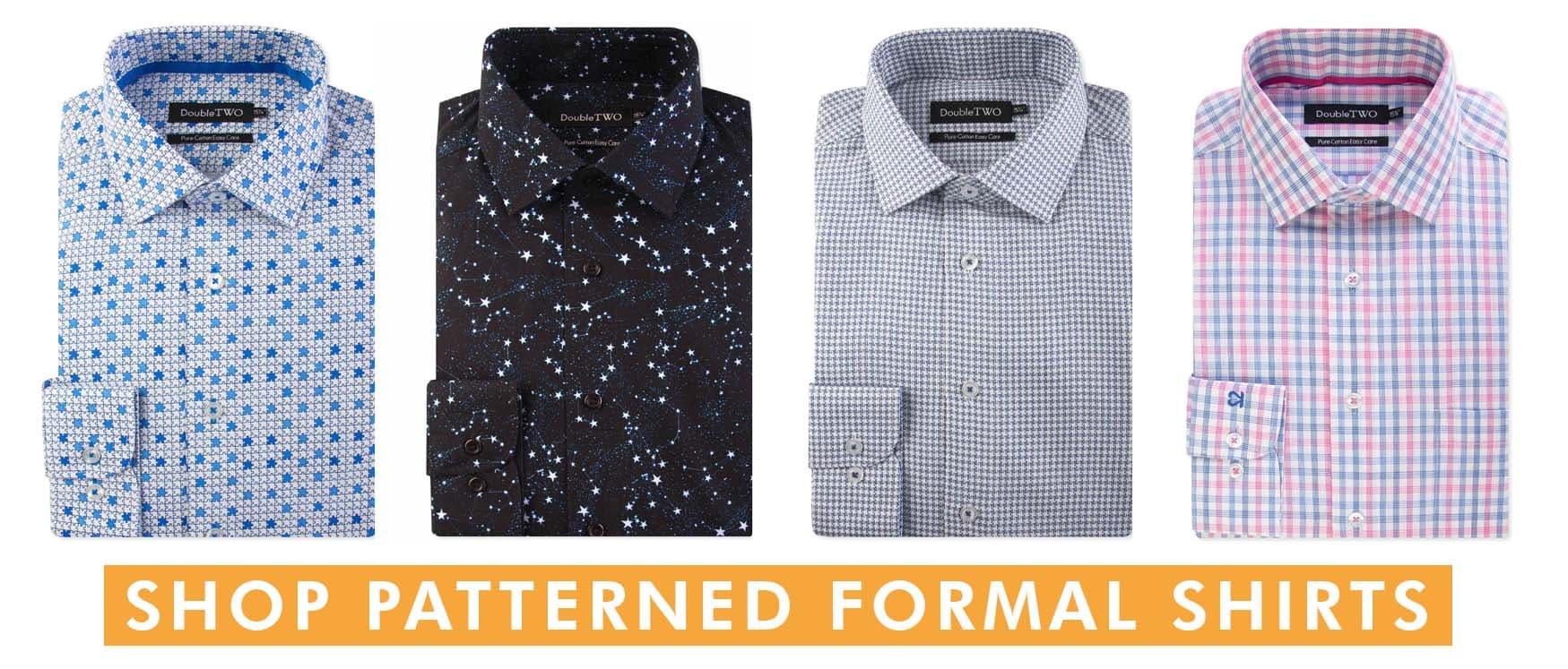 Patterned Formal Shirts
