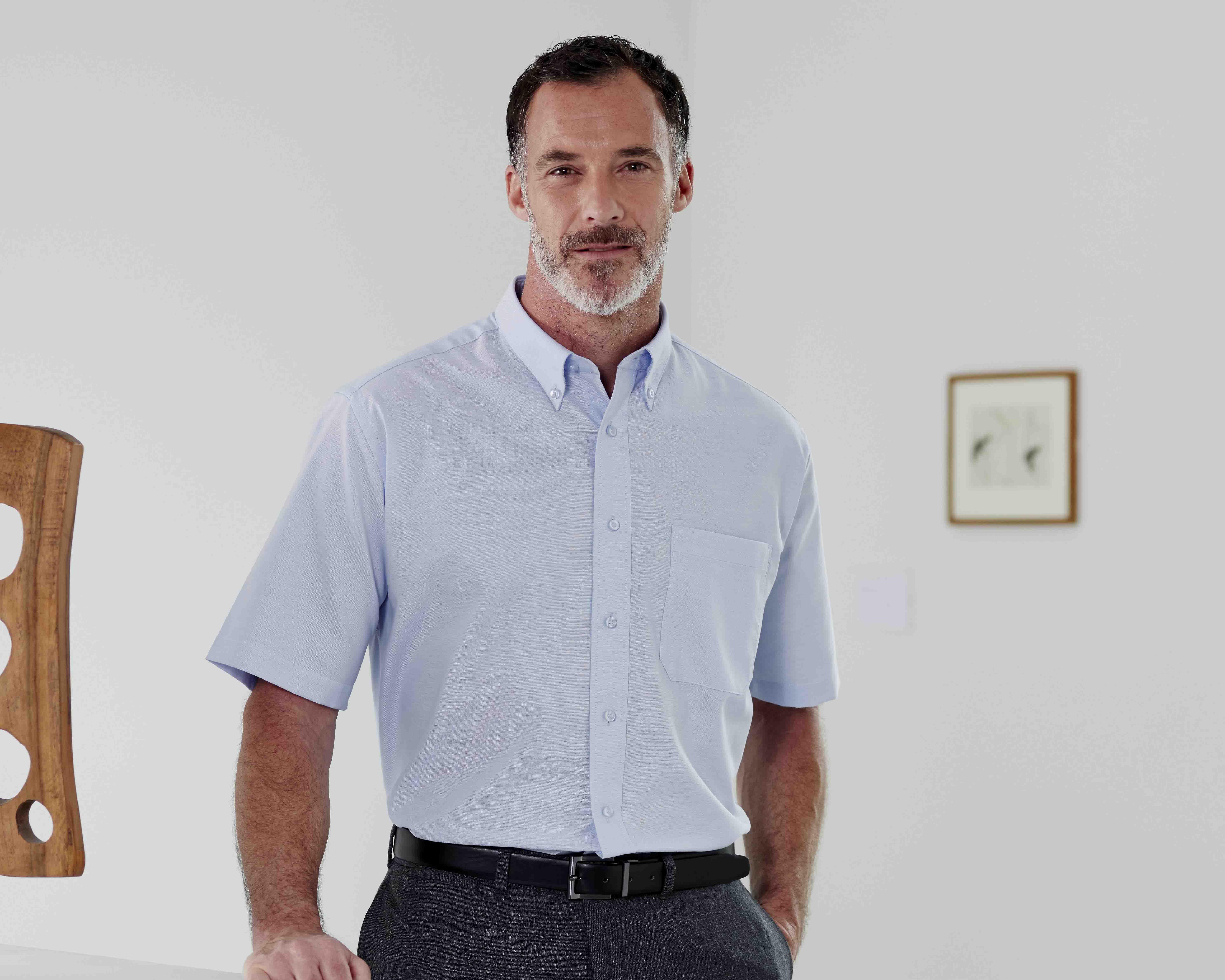 Double TWO Non-Iron Oxford Shirts