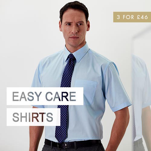 Double Two Easy Care Shirts