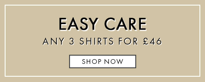 3 Easy Care Shirts For £46 Offer