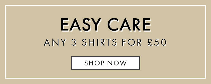 3 Easy Care Shirts For £50 Offer