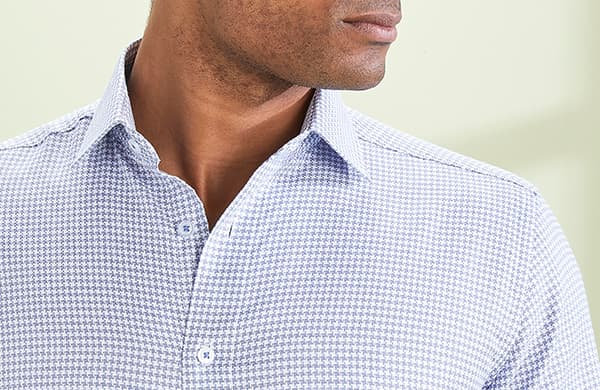 Men's Patterned Formal Shirts