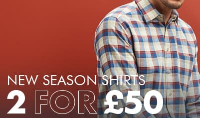 2 Shirts for £50