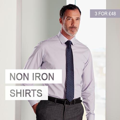 Double Two Non Iron Shirts