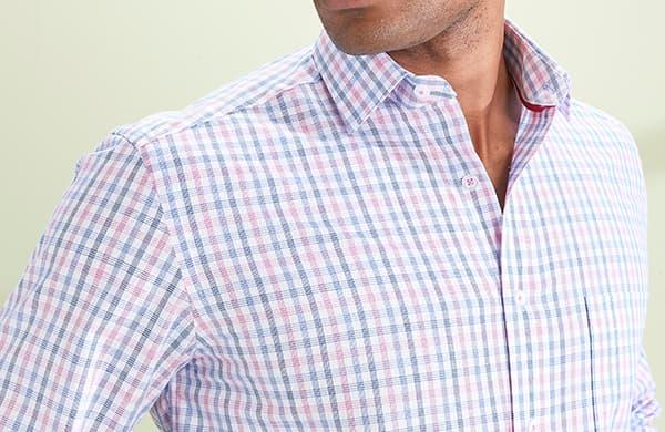 Men's Patterned Formal Shirts
