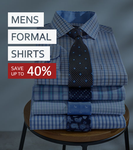 Double Two Formal Shirt Sale