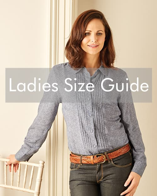 ladies size guide and how to measure